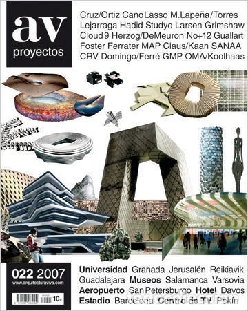 """AV proyectos Nº 022 """"Campus Universitario y Parque Científico y Tecnológico de Guadalajara"""""""