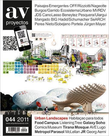 "AV Proyectos Nº44 ""Centro cívico de Jesús. Santa Eulalia"" 2011. ISSN: 1697-493X"