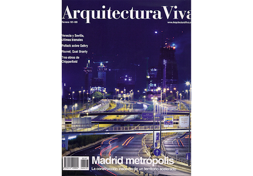 "ARQUITECTURA VIVA Nº 107-108  ""Sede social de la EMT, Madrid"""