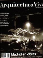 """ARQUITECTURA VIVA. Nº 89-90. 2003. """"Sede social de la  EMT y Rockodromo"""""""