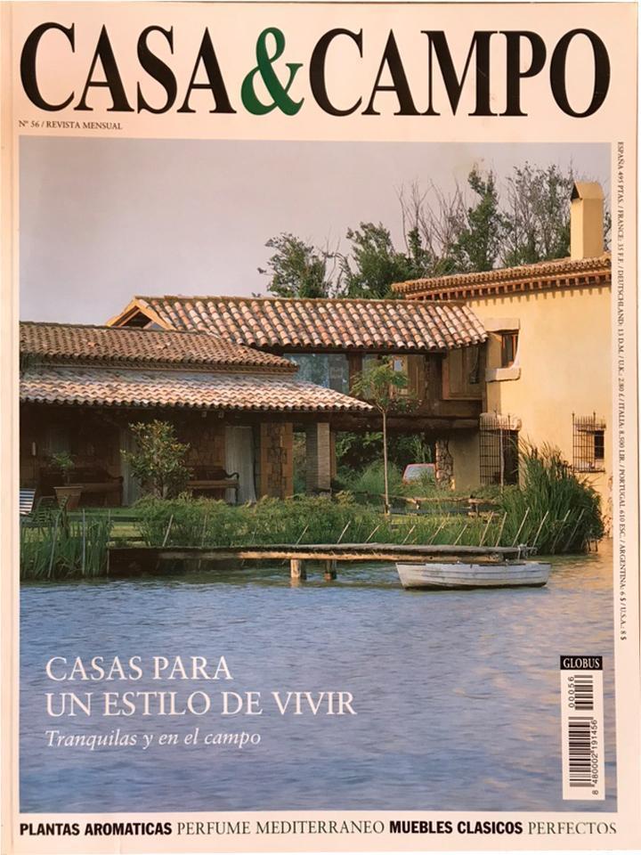 """CASA Y CAMPO. Nº 56. """"Jardín Histórico en Villaviciosa""""."""