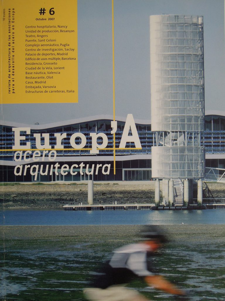 """EUROP´A. ACERO ARQUITECTURA Nº 6 """"Madrid Arena"""""""