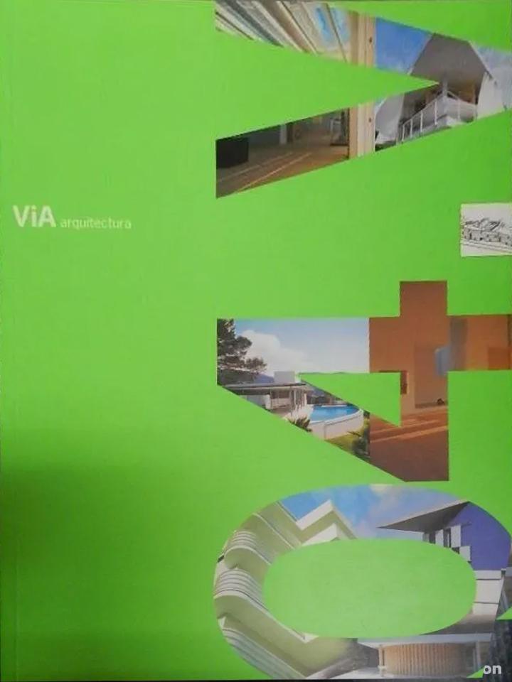 """VIA. Nº 4 .Revista del Colegio Oficial de Arquitectos de la Comunidad Valenciana. 1999. """"Viviendas en Valdevernardo""""."""