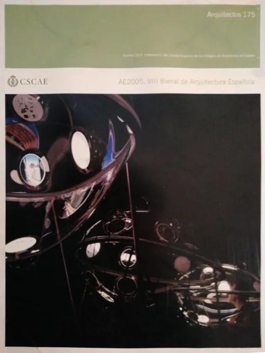 """ARQUITECTOS. CSCAE. Nº 175, """"viii Bienal de Arquitectura Española. Sede social de la EMT, Madrid"""""""